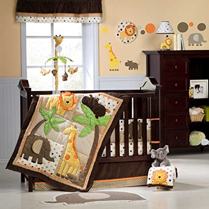 Carters Sunny Safari Baby Bedding Collection Baby