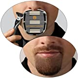 My Perfect Goatee, Men's Goatee Shaving Template by GoateeSaver, GTS 1001 (Tamaño: 1 Pack)