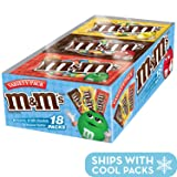 M&M'S Variety Pack Chocolate Candy Singles Size 30.58-Ounce 18-Count Box (Color: Basic, Tamaño: 18 Count)