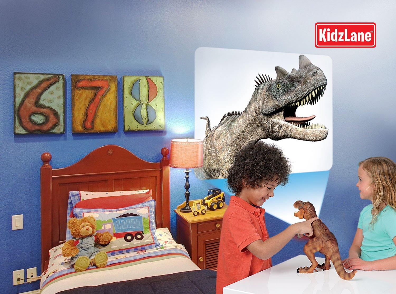 Dinosaur Toy - Dinosaur Room Guard/Motion Sensor - Projects 24 T-Rex Dinosaur Images on Your Wall - Hot Gift Dinosaur Toys for Boys