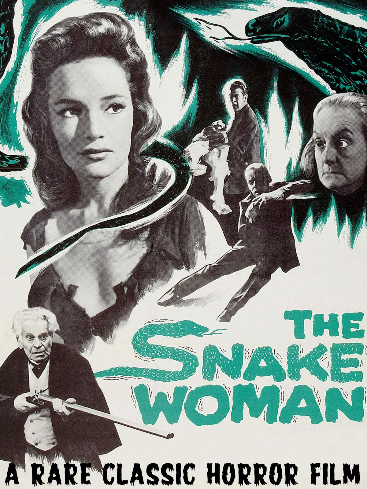 The Snake Woman - A Rare Classic Horror Film on Amazon Prime Video UK