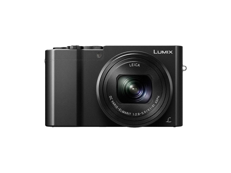 Panasonic DMC-ZS100K Lumix 4k Digital Camera with 20 Megapixel Sensor, 25-250mm, Wi-Fi (Black)