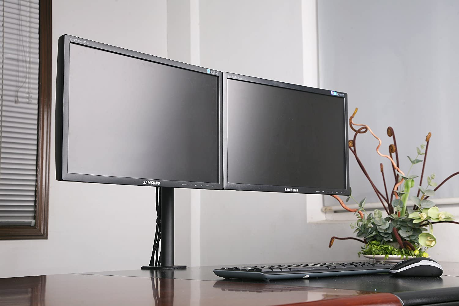 Halter Dual LCD Monitor Stand