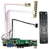 VSDISPLAY HDMI+VGA+CVBS+USB+RF+Audio LCD Motor Driver Board Controller Kit Work For 14'' 15.6'' LTN140AT02 LTN156AT17 1366x768 40Pin LCD Panel