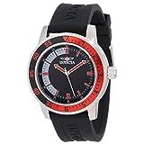 Reloj para caballero  Dial negro con rojo Invicta Men's 12845