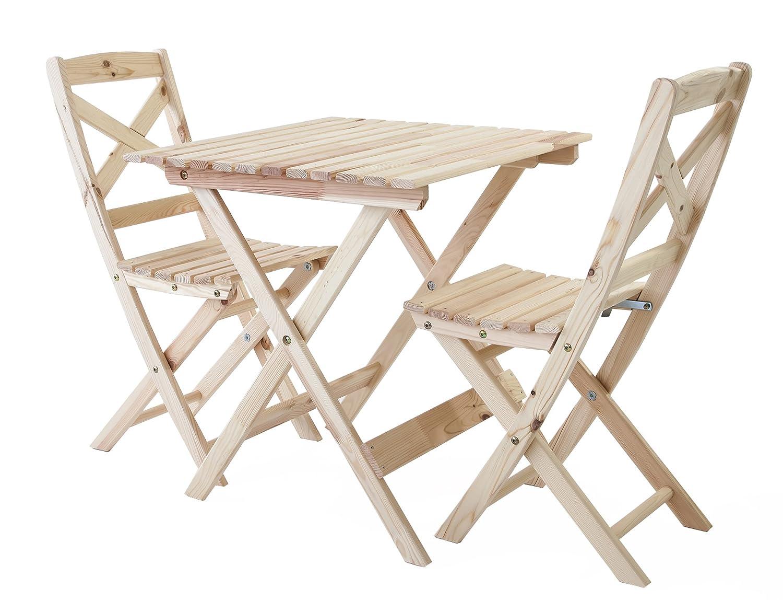 nordische gartenm bel 3tlg massivholz. Black Bedroom Furniture Sets. Home Design Ideas