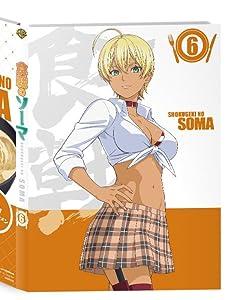 【Amazon.co.jp限定】「食戟のソーマ」第6巻<初回生産限定版> (オリジナルクリアブックマーカー付き) [Blu-ray]