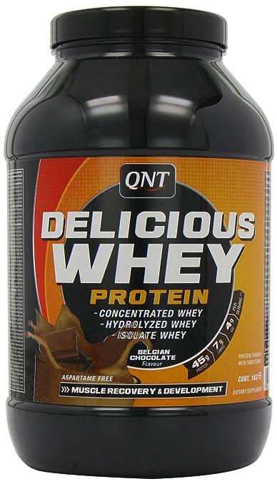 QNT Delicious Whey Protein 1Kg Belgische Schokolade