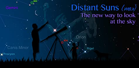 Distant Suns (max) - Unleash your inner astronaut!