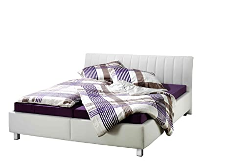 Maintal Betten 229601-4691 Polsterbett Tico, 140 x 200 cm, weiß