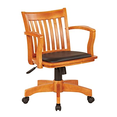 Office Chairs Color Fruit Wood/Black