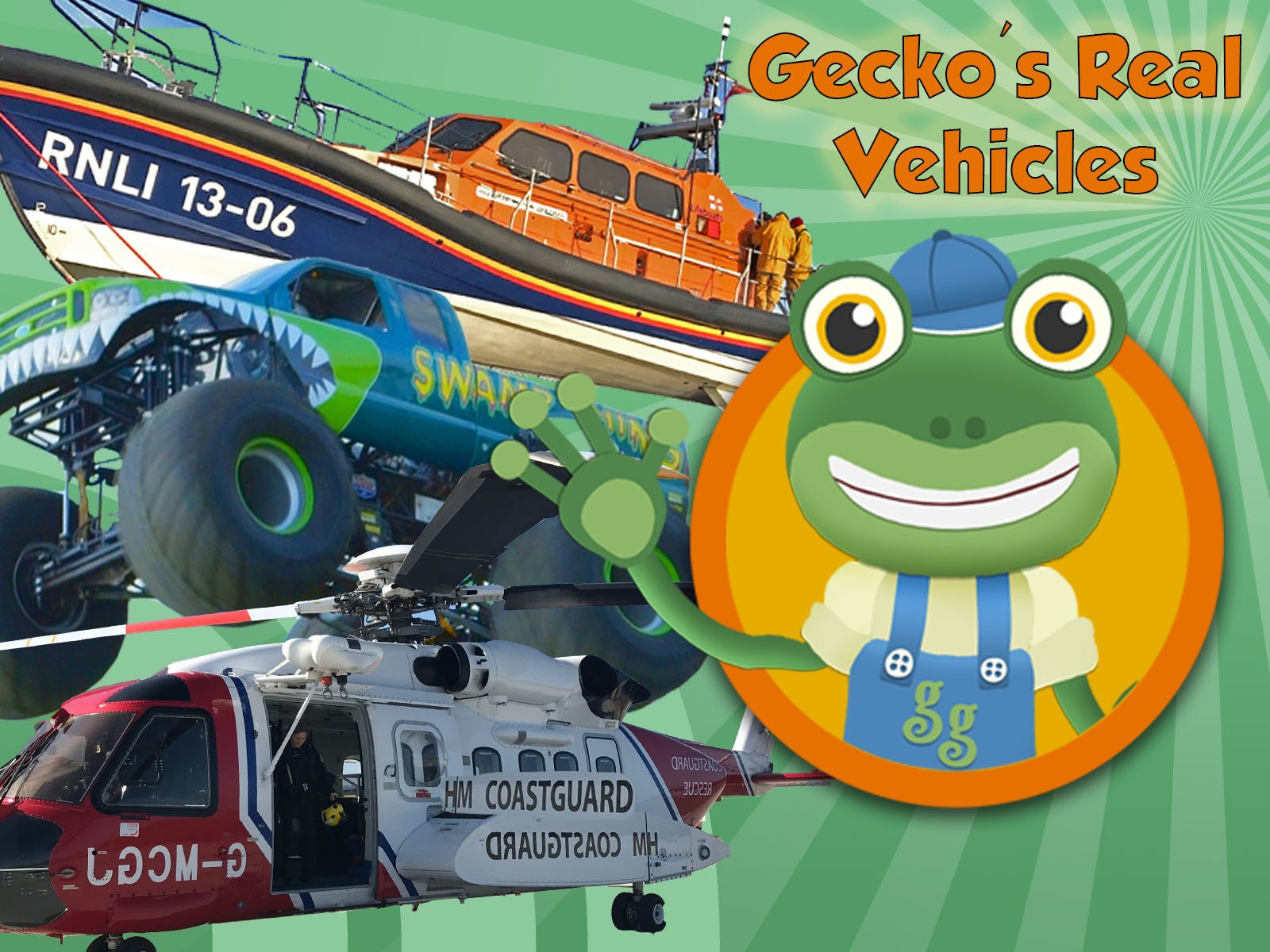 Gecko's Real Vehicles - Season 1