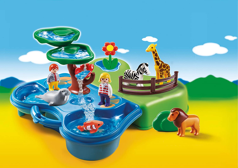 PLAYMOBIL1.2.3.  Zoo & Aquarium