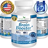 ? ADVANCED Brain Support Supplement Focus Clarity & Memory Booster PLUS FREE EBOOK Energy Enhancer Ginkgo Biloba St Johns Wort Vitamins Nootropic Power Boost 60 Brain Health Function Pills