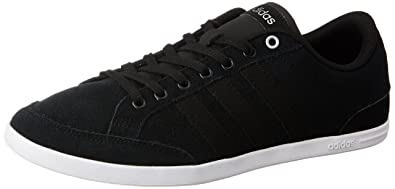 separation shoes 48c8c 47d55 ... Price  adidas neo Mens Caflaire Cblack and Msilve Leather Sneakers -  10 UKIndia (44.67 ...