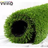VViViD Artificial Grass Synthetic Weatherproof Vinyl Turf Mat Roll (12ft x 40