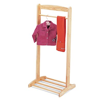 Pintoy Wooden Clothes Rack