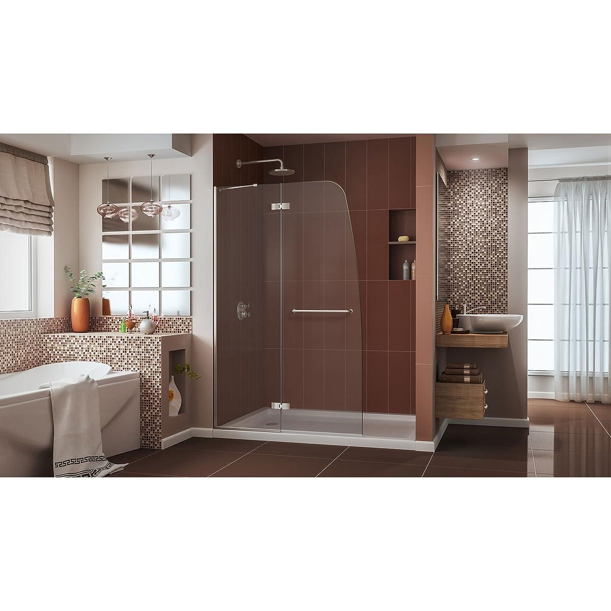 Dreamline Aqua Ultra 45 In Width Frameless Hinged Shower