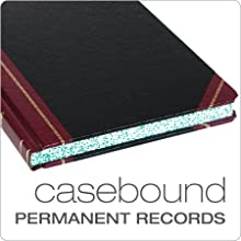 "Boorum & Pease Quad Book, 5x5 Quad Ruled, 10-3/8"" x 8-1/8"" Size, 300 Pages (21-300-Q)"