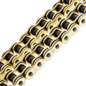 NICHE Gold 530 X-Ring Chain 122 Links With Connecting Master Link