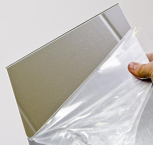 Acryl spiegel plexiglas spiegel 3mm xt 25 x 25 cm for Fliesenspiegel plexiglas