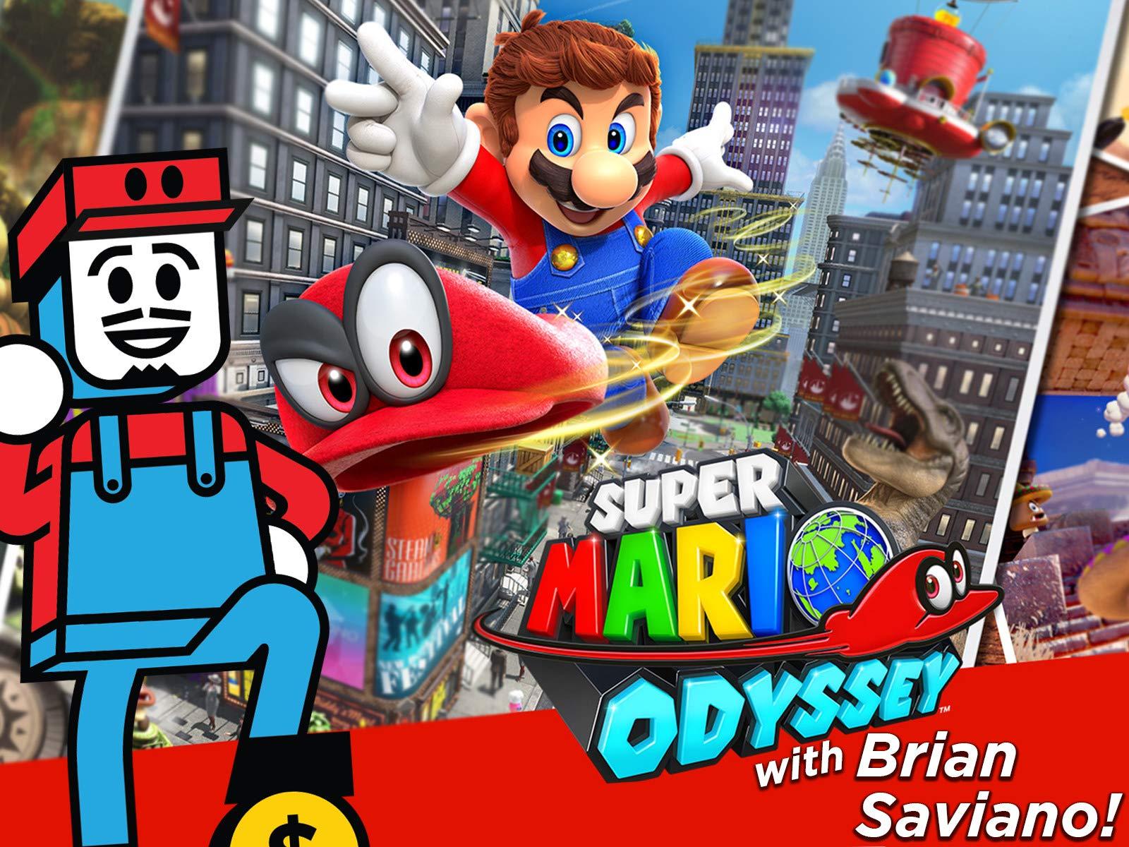 Clip: Super Mario Odyssey Playthrough with Brian Saviano!