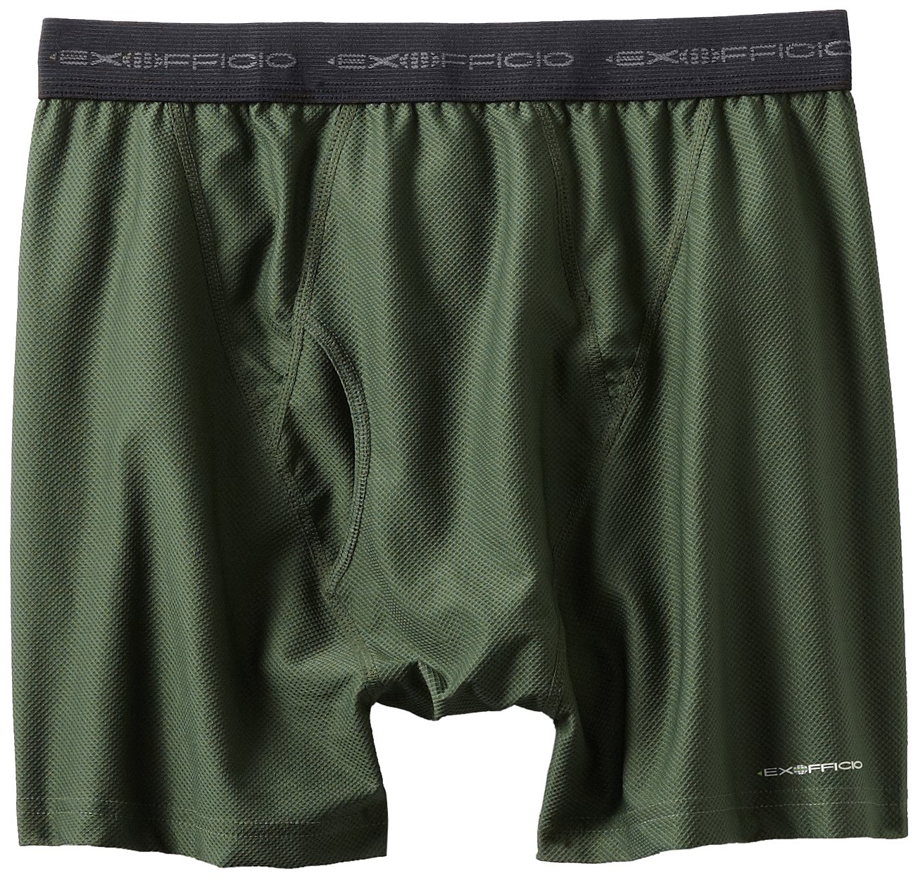 ExOfficio Men's Give-N-Go Boxer Brief Deep Palm