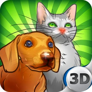 Virtual Pet 3D Free from 3D Touch Games