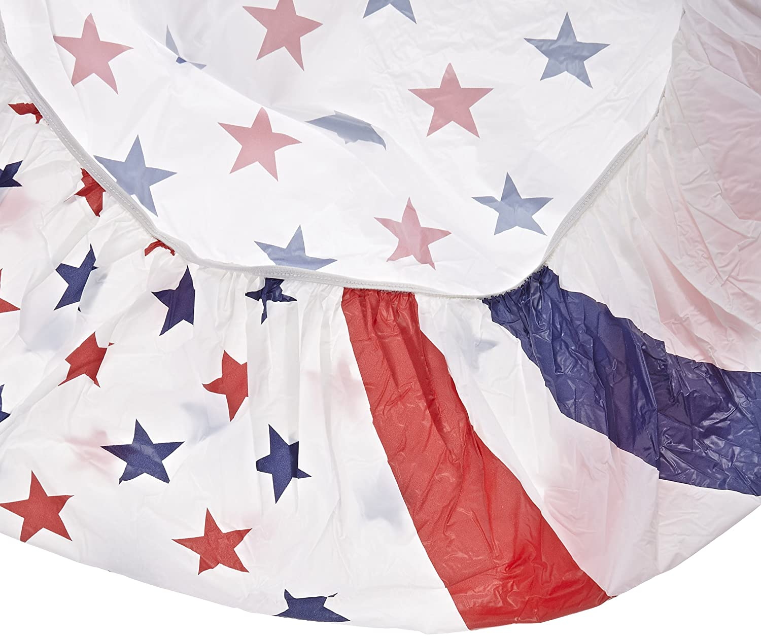 Round Plastic Table Covers With Elastic Fourth Of July Table Covers Fourth Of July Wikii