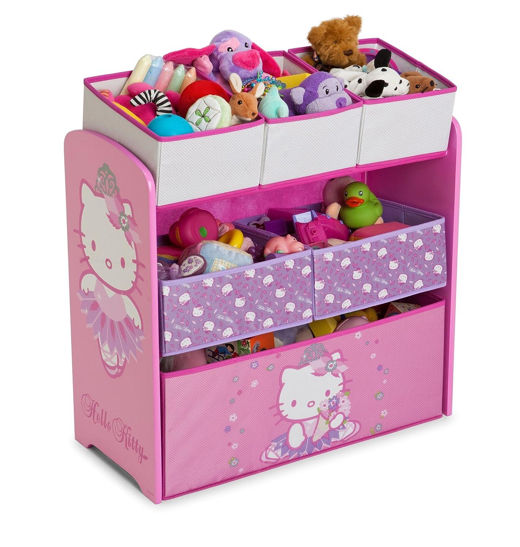 Hello Kitty Toy Bin : Delta hello kitty multi bin toy organizer storage boxes