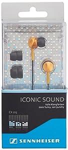 Sennheiser 505442 - Auriculares in-ear, naranja  Electrónica revisión y más noticias