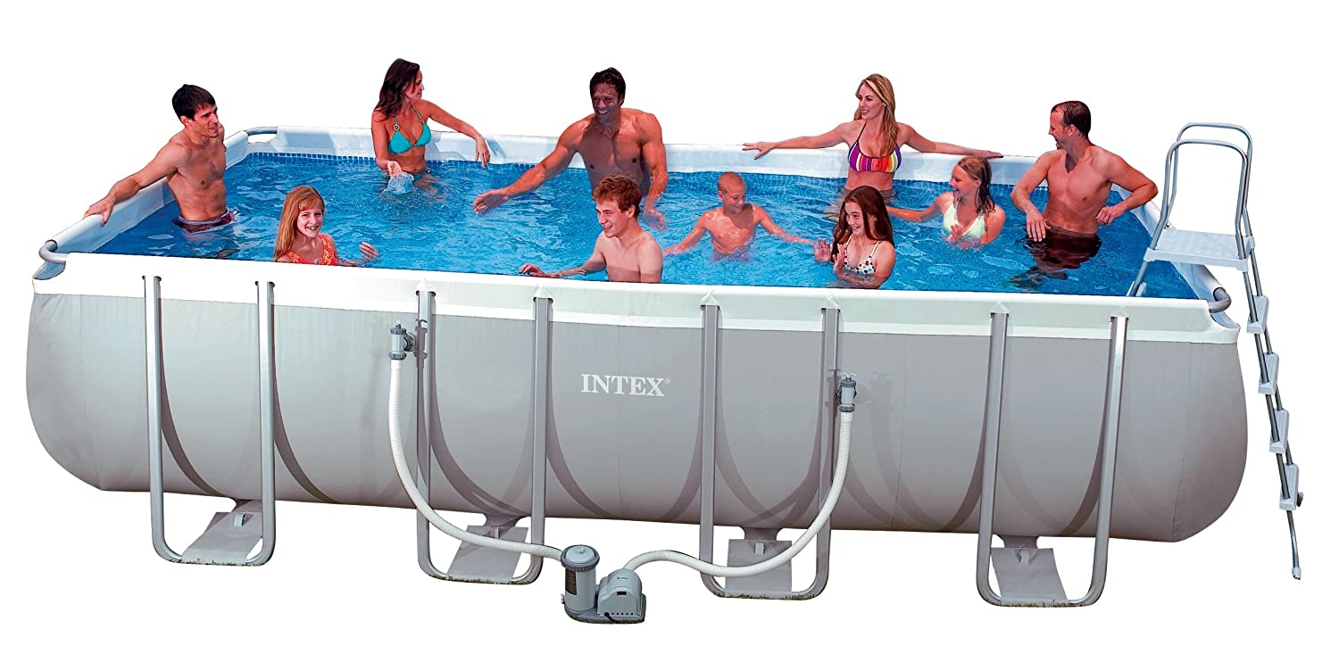 Intex Pool Set Ultra Quadra