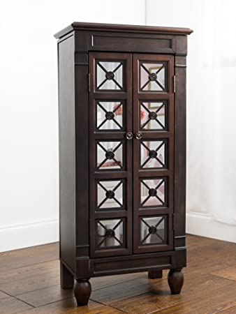 "Hives and Honey ""Celene"" Jewelry Armoire, Espresso"
