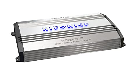 Hifonics BRX24161D HIFONICS BRUTUS 1 x 850 @ 4 Ohms 1 x 1600 @ 2 Ohms 1 x 2400 WATTS @ 1 Ohm