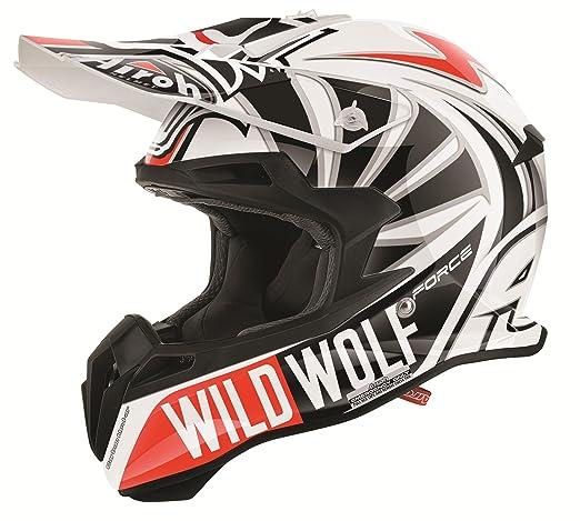 AIROH motocrosshelme jumper wild wolf multicolore