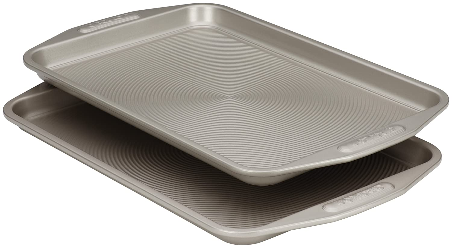 The Circulon 10 by 15-inch nonstick bakeware 2-piece set cookie baking pan