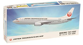 Hasegawa HLT10685 JAL Japan Transocean Air Boeing 737-400 1:200 Plastic Kit Maquette