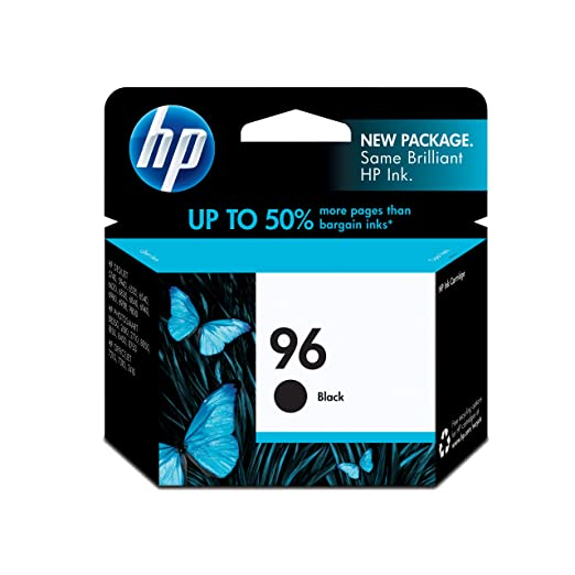 C8767WN (HP 96) Ink, 860 Page-Yield, Black