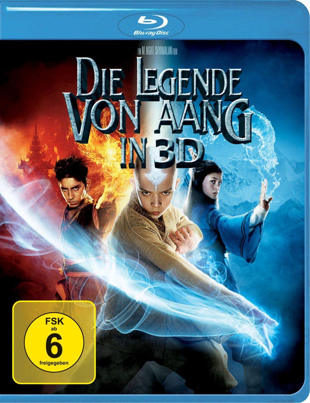 Die Legende von Aang in 3D (3D Blu-ray)