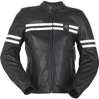 Furygan Lady GTO manteau de cuir moto Moto veste nouveau féminin