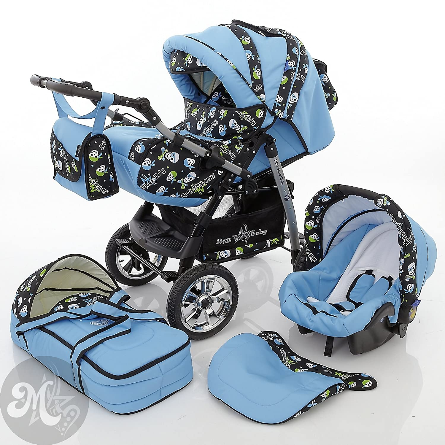 3 in 1 prams Cheap 3 in 1 Prams 81b4KU75iAL