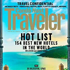 Conde Nast Traveler Magazine