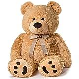 JOON Huge Teddy Bear - Tan (Color: Tan, Tamaño: 38
