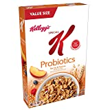 Kellogg's Special K Probiotics, Breakfast Cereal, Berries and Peaches, Low Fat, Value Size 15.5oz Box (Tamaño: 15.5 Ounce)