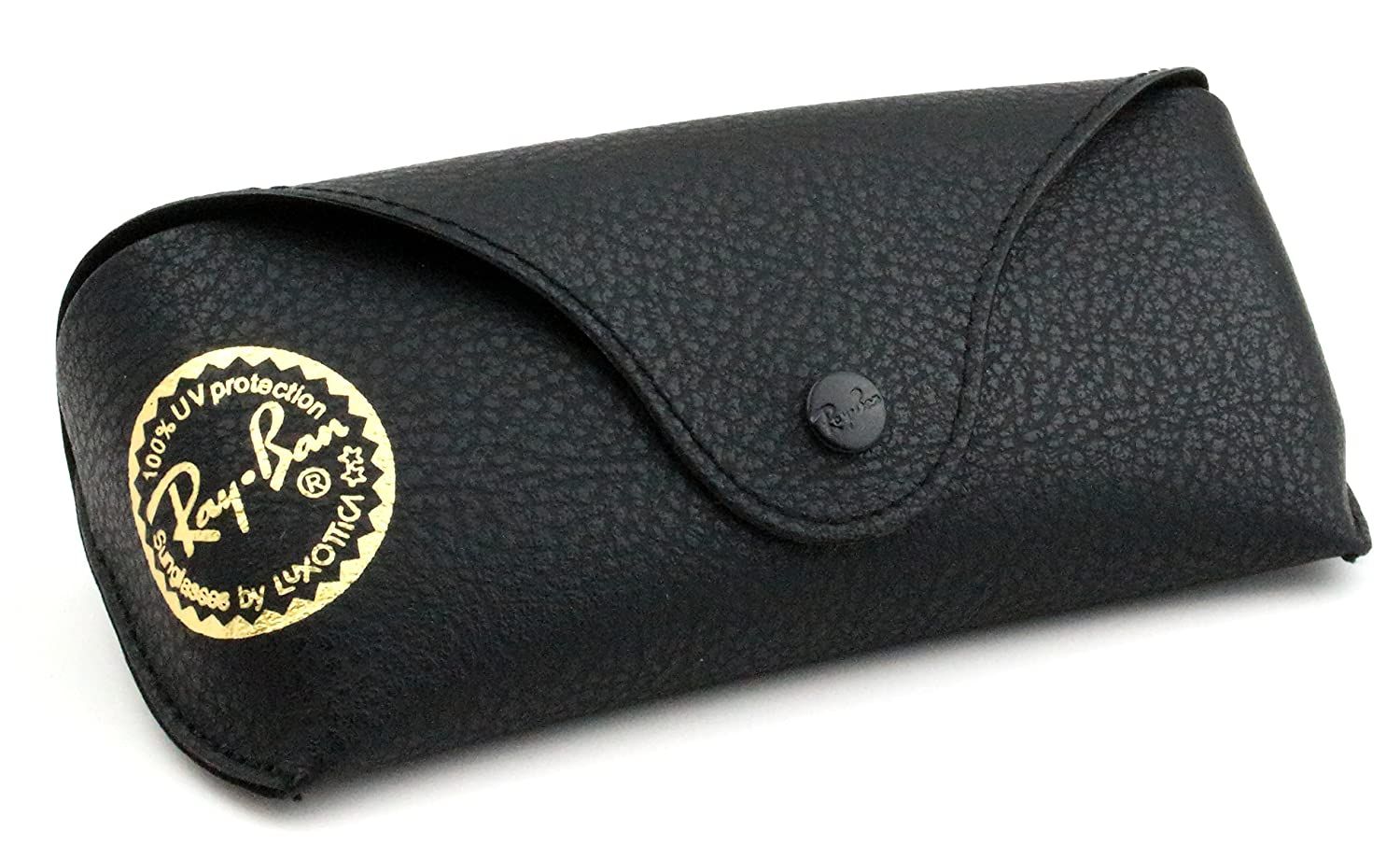 ray ban folding wayfarer 7nq3  ray ban soft pu black leather sunglass case by aec imported: amazon