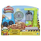 Play-Doh Wheels Crane & Forklift Construction Toys with Non-Toxic Cement Buildin' Compound Plus 2 Additional Colors (Color: Brown/a)