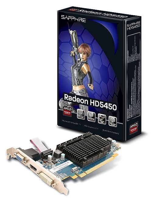 Sapphire HD5450 Carte Graphique AMD HM 1 Go LR DDR3, HDMI, DVI