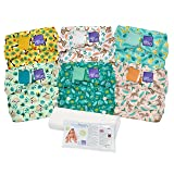 Bambino Mio Miosolo Cloth Diaper Set, Rainforest (Color: Rainforest)