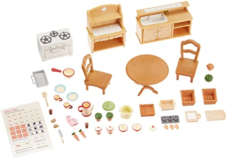 Critters Calico Cuisine Deluxe Set