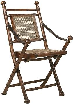 Kare 72756 Colonial Chaise pliante Cuir 99x4x44cm